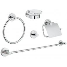 Набор аксессуаров для ванной комнаты Grohe Essentials (40344001)